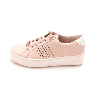 MICHAEL Michael Kors Womens Medium Poppy Lace Low Top Lace Up Fashion Sneakers