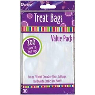 Clear Treat Bags 3 75 X6