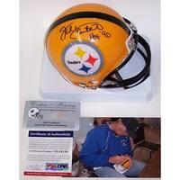 Jack Lambert Autographed Hand Signed Steelers Mini Helmet  PSADNA