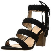 XOXO Women's Binnie Heeled Sandal