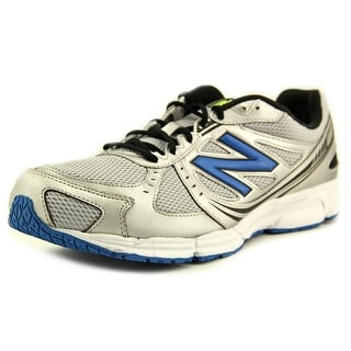 New Balance M470 Men Round Toe Synthetic Silver Running Shoe