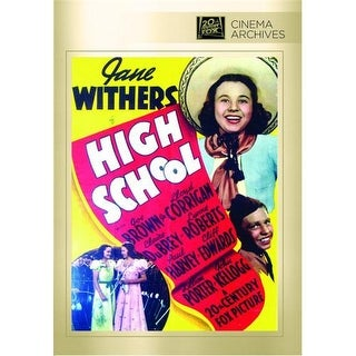 High School DVD Movie 1940