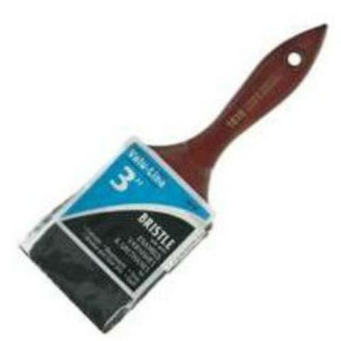Linzer 1610 Valu Line Black Chinese Bristle Varnish/Wall Brush, 3""