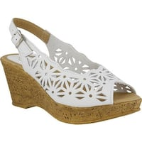 Spring Step Women's Abigail White Leather