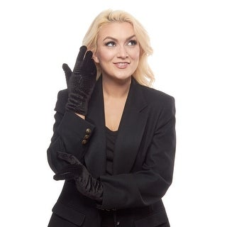 Sparkle Vision Velvet Gloves with Thinsulate Lining