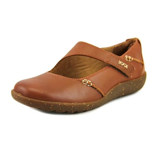 83cbecf63bfa Shop Clarks Medora Lanyard Women Round Toe Leather Tan Mary Janes ...