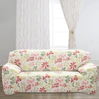 Unique Bargains Flower Pattern Stretch Sofa Slipcovers