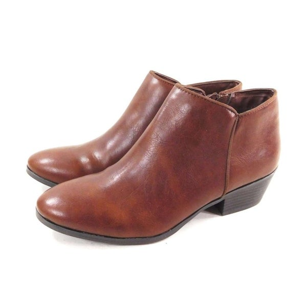 Style & Co. Womens wileyy Almond Toe Ankle Fashion Boots - 8