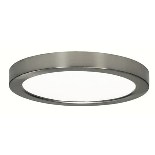 Nuvo Lighting S9337 Blink 1 Light LED Energy Star Flush Mount Ceiling Fixture - 9 Inches Wide