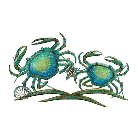 Double Crab Wall Decor