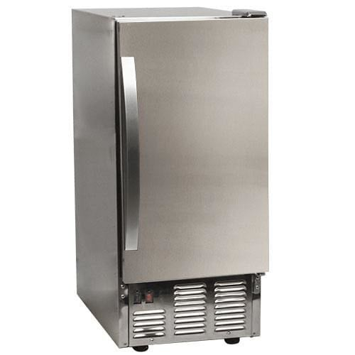 EdgeStar OIM450 15 Inch Wide 25 Lbs. Capacity Built-In Ice Maker with 50 Lbs. Daily Ice Production