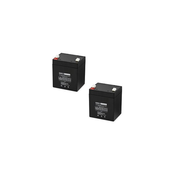 Replacement AGM SLA Battery 12V-4.5Ah 2-Pack Replacement AGM SLA Battery