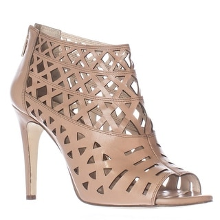 I35 Rammee Caged Cutout Peep Toe Sandals - Honey