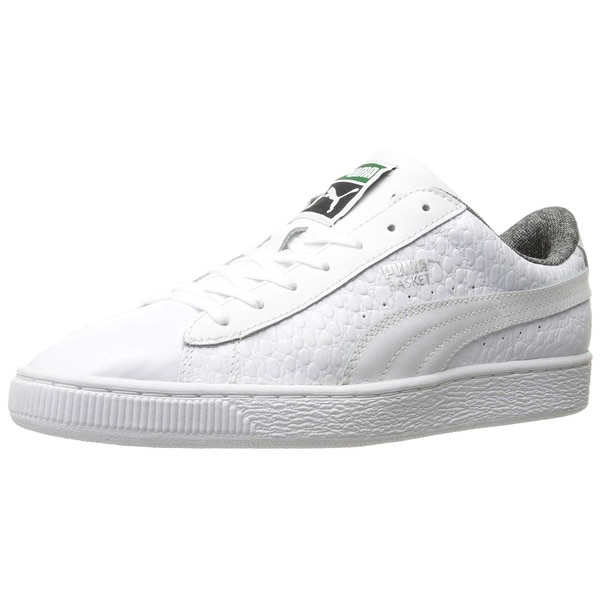 88b4880b69c Shop PUMA Men s Basket Classic Textured Fashion Sneaker - Free ...