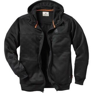 Legendary Whitetails Men's Full Guard Concealed Carry Sweatshirt - Black