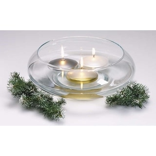 """Unscented Floating Candle Disk 3""""-Metallic Gold"""
