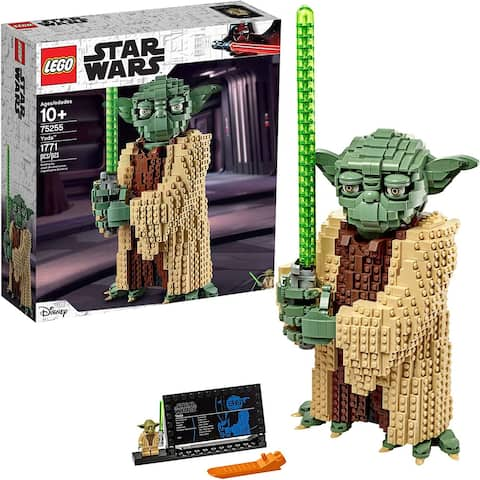 LEGO Star Wars Attack of the Clones Yoda with Lightsaber Building Set