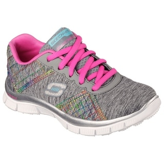Skechers 81863L GYMT Girl's ITS ELECTRIC Sneaker