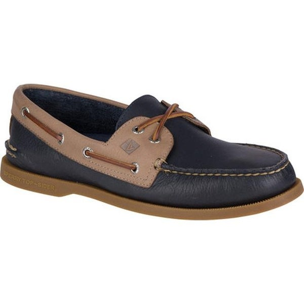 f1446983e8 Shop Sperry Top-Sider Men s Authentic Original Boat Shoe Navy Stone ...