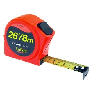 """Apex HV1048CME Lufkin Metric And English Power Tape, 1"""" x 25'"""