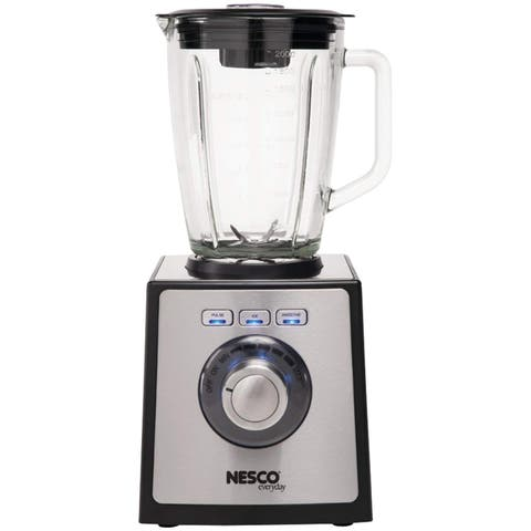 NESCO BL-50, Stainless Steel Blender, Silver & Black, 700 watts