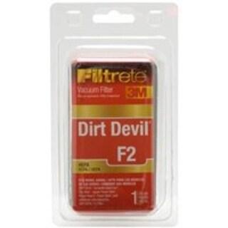 Filtrete 65802A-4 Vacuum Cleaner Filter, Dirt Devil F2