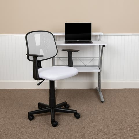 Pivot Back Mesh Swivel Task Office Chair