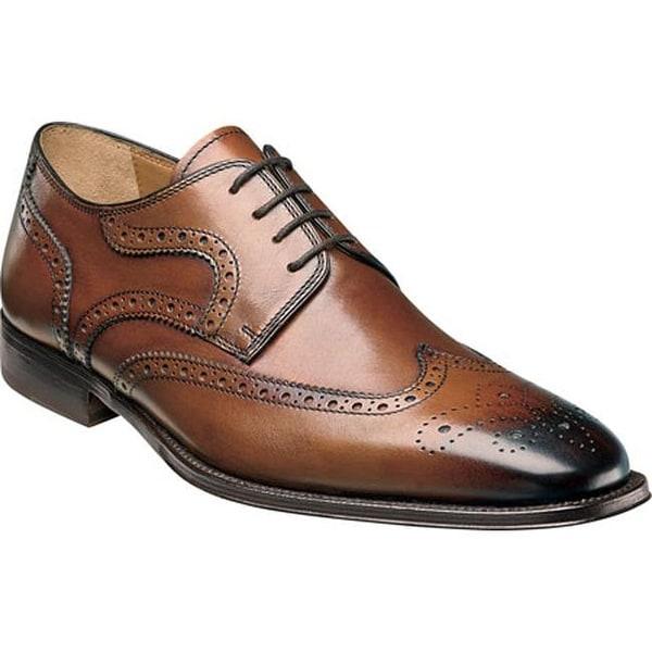 Florsheim Men's Classico Wing Ox Cognac Calfskin Leather