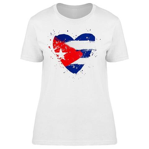 Cuban Flag Tee Women's -Image by Shutterstock