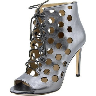 Via Spiga Elouise Lace Up Bootie Open Toe Leather Sandals