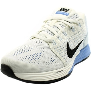 Nike Lunarglide 7 Round Toe Canvas Running Shoe