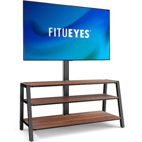 FITUEYES 3-Tier Floor TV Stand for 37-70 Inch TVs A Series