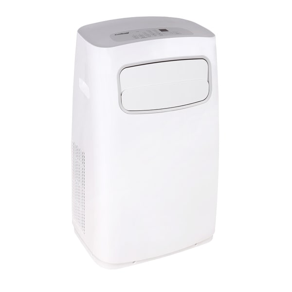 with Remote Control Koldfront PAC802W Portable Air Conditioner with Dehumidifier and Fan for Rooms up to 250 Sq Ft