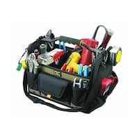 CLC 1578 Open Top Soft-Sided Tool Box, 17 Pockets