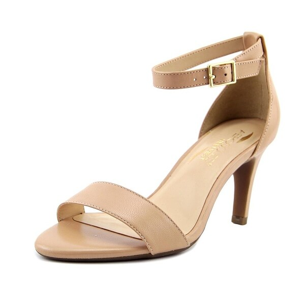 6a998ca87f9e Shop Aerosoles Laminate Women Open Toe Synthetic Nude Sandals - Free ...