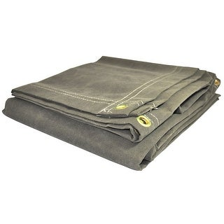 Foremost 60068 Dry Top olilve Drab Canvas Tarp, 6' x 8'