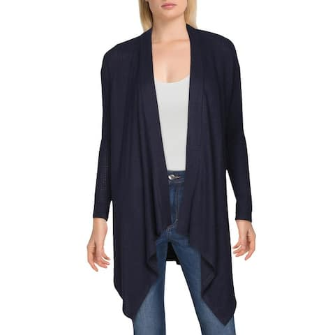 1.State Womens Duster Sweater Drape-Front Layering