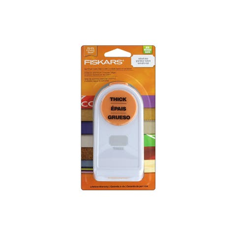 "Fiskars Thick Punch 1.5"" Label"