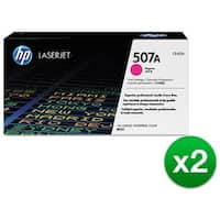 HP 507A Magenta Original Toner Cartridge For US Government (CE403AG)(2-Pack)