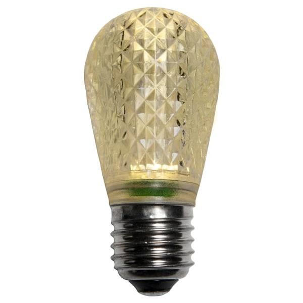 wintergreen lighting 43499 t50 warm white led christmas light bulbs pack of 25