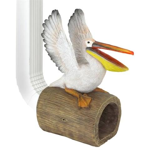 Splash The Pelican Rain Gutter