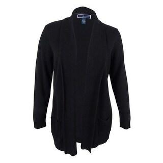 Karen Scott Women's Plus Size Shawl Collar Cardigan