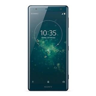 Sony Xperia XZ2 Unlocked Smartphone (Deep Green)