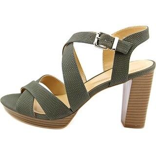 Alfani Womens Palaria Open Toe Casual T-Strap Sandals