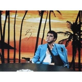 Al Pacino Autographed SCARFACE 11x14 Photo