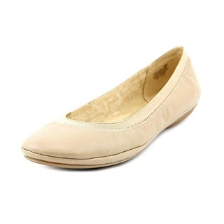 Bandolino Edition Women  Round Toe Leather Tan Flats