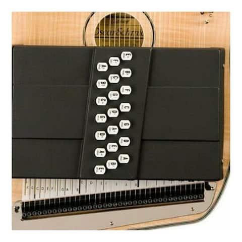 Oscar Schmidt 21 Chord Acoustic/Electric Autoharp Flame Maple Top