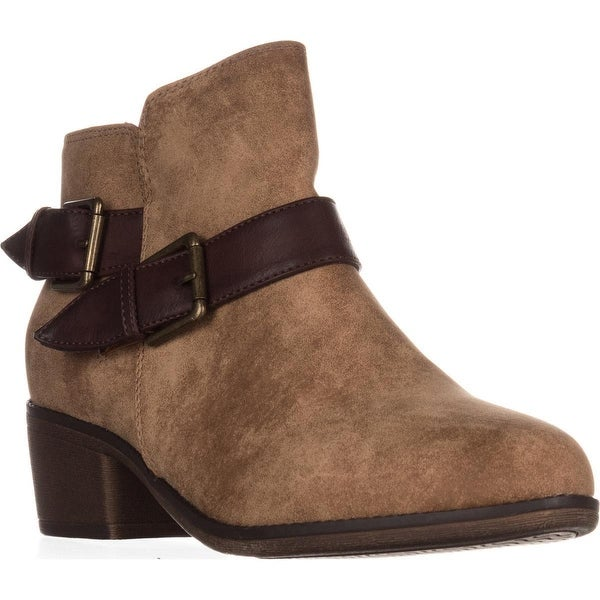 Seven Dials Yosepha Motorcycle Ankle Boots, Natural