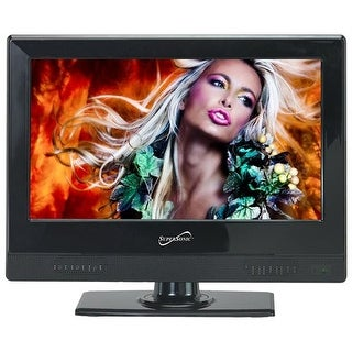 """Supersonic Sc-1311 13.3"""" Led Hdtv Television With Hdmi/Usb In Wall Mount"""