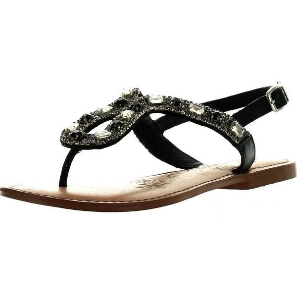 Naughty Monkey Women's Ring Teaser Dress Sandals